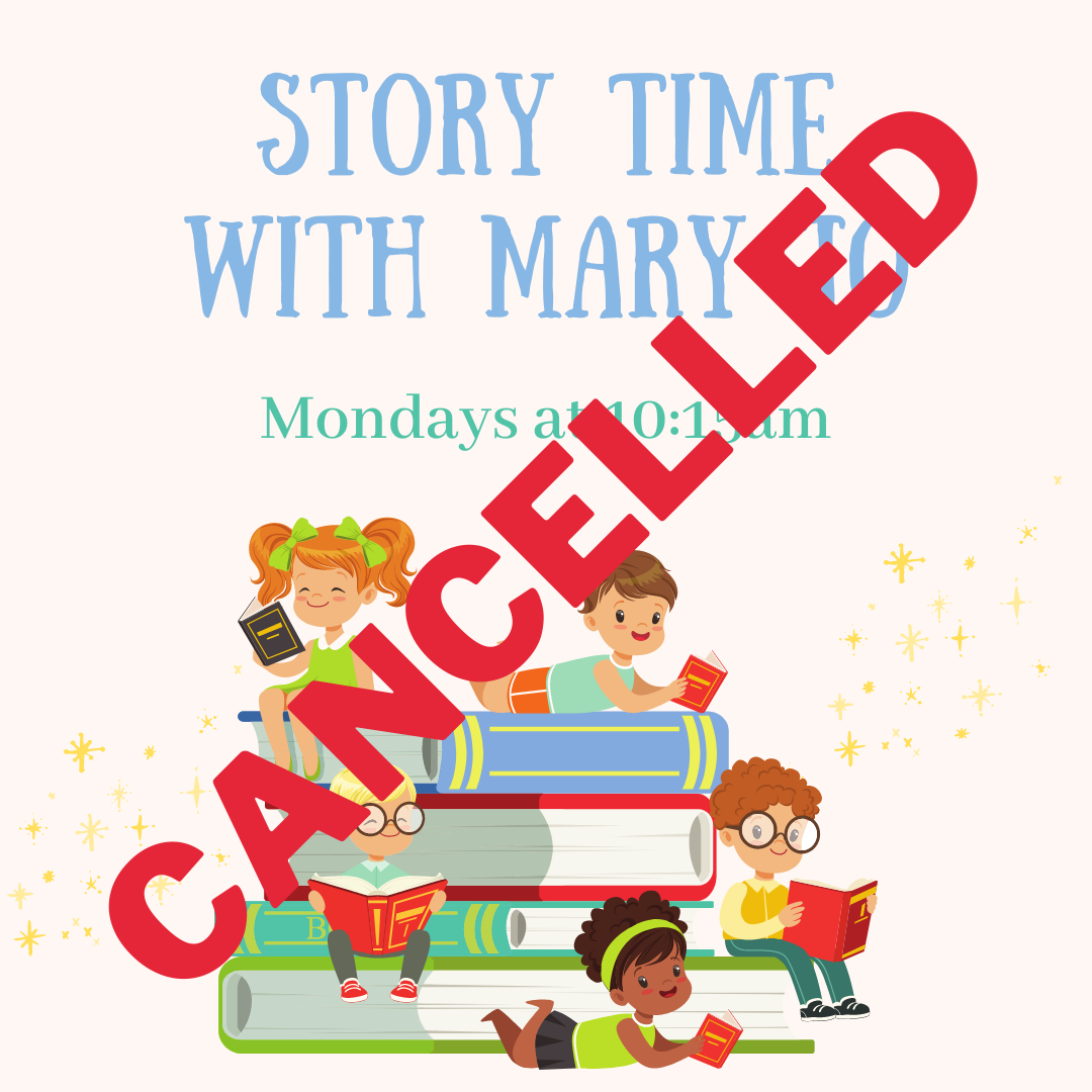 Story time with Mary Jo Hannah